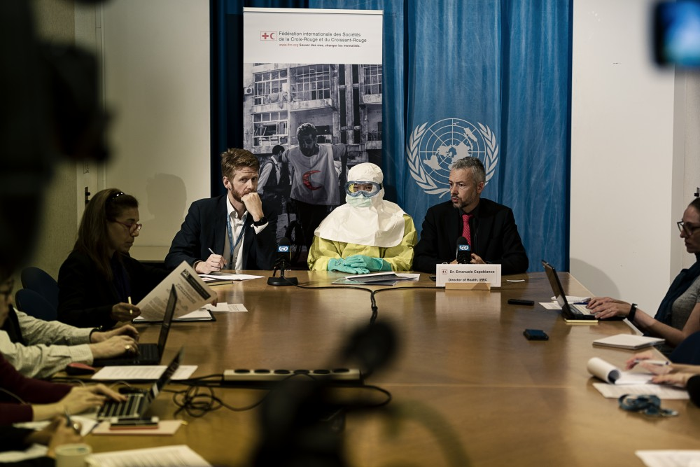 """DR Congo: """"We Cannot Scale Down While Ebola Escaltes"""" says IFRC"""