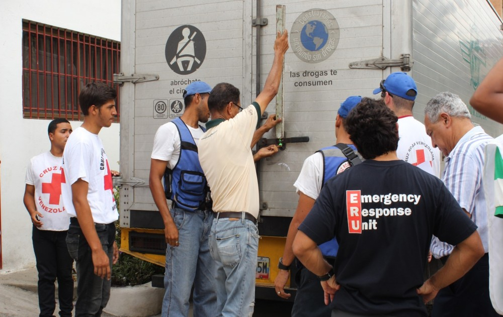Venezuela IFRC Operation Continues