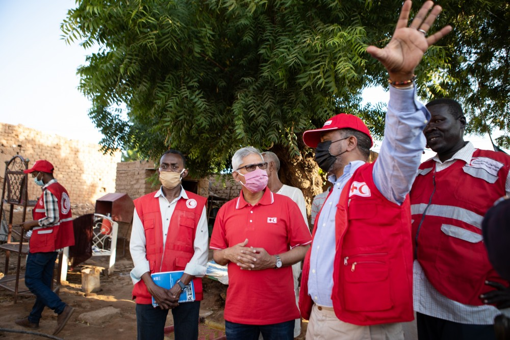 "Sudan floods: ""The conditions are simply appalling"" says IFRC Secretary General, as emergency appeal remains woefully underfunded"