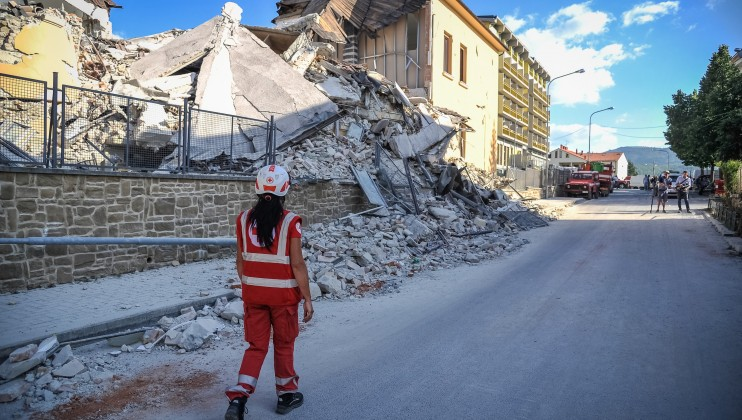 4. Italy Earthquake