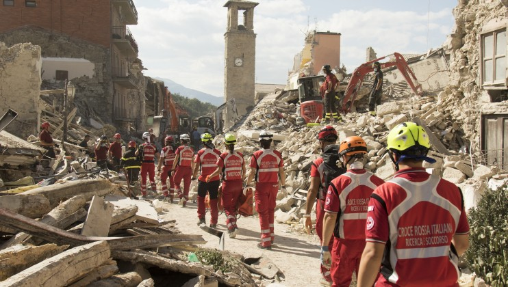 7. Italy Earthquake
