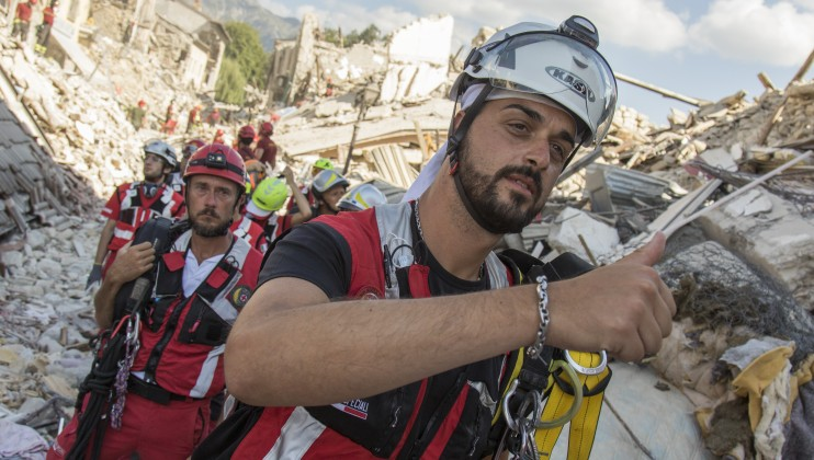 8. Italy Earthquake