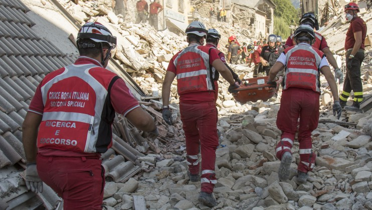 9. Italy Earthquake