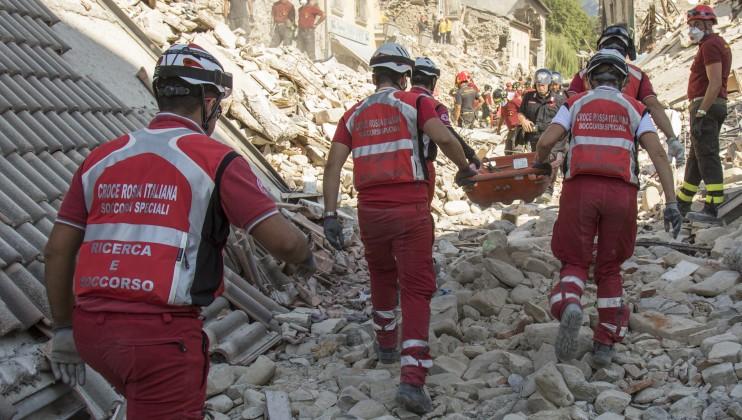 9. Italy Earthquake