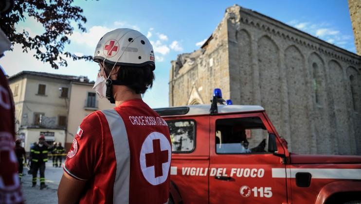 13. Italy Earthquake