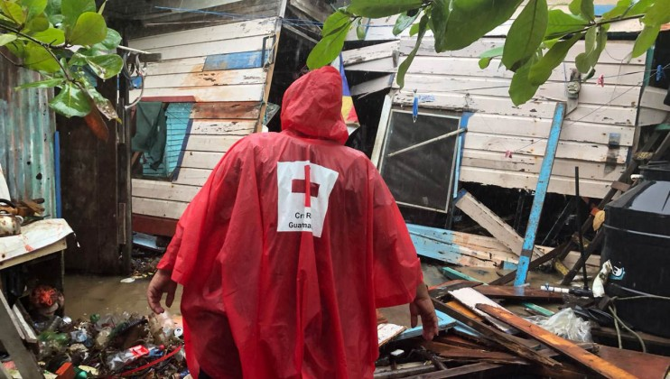 Guatemala Red Cross will support 10,000 people, especially in the most affected departments of Alta Verapaz and Izabal. According to national authorities, these two departments report the most severe damage to housing, the largest number of evacuees in official and non-official centres and reported the highest number of incidents related to Eta and Iota, such as floods and landslides.  Credits: Guatemalan Red Cross