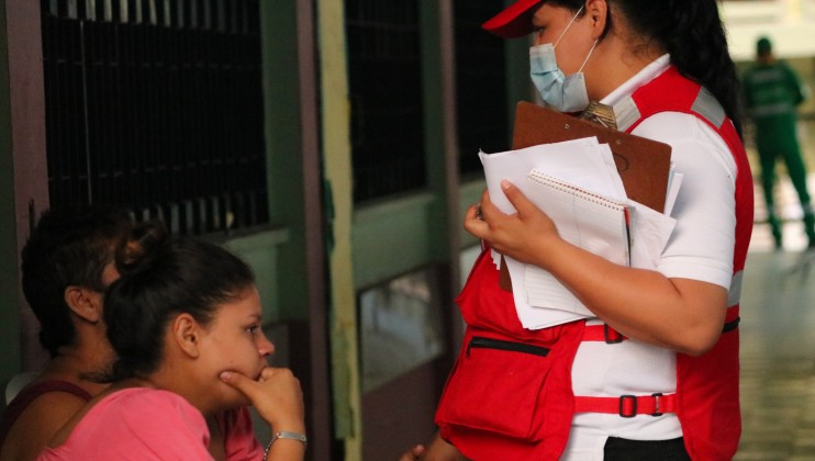 As of 21 November 2020, around 29,977 people received first aid and out-of-care medical attention in the context of the emergency, including 4,854 cases of water, air or land relief and rescue. In addition, the Honduran Red Cross is providing services including psychosocial support, restoring family links, delivery of hygiene and health care kits, WASH and provision of more than 4,000 food rations to families.  Credits: Honduran Red Cross   Natalie Acosta