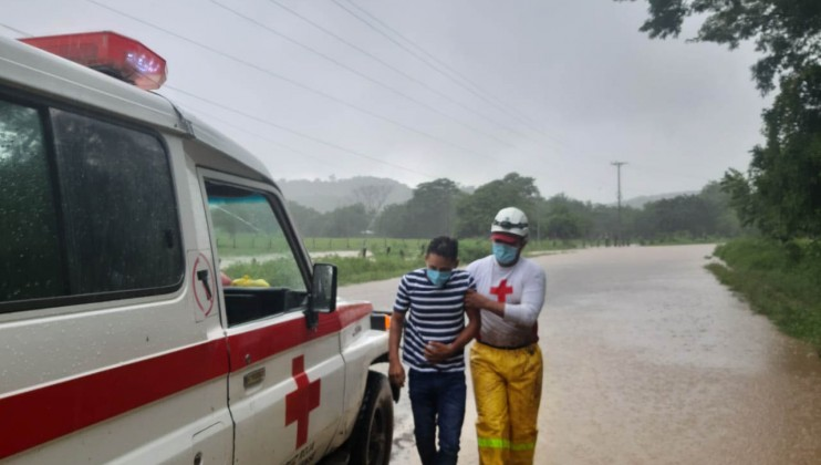 Since the first moment, Nicaraguan Red Cross provided preparation and evacuation support, rescue services, support to sheltered people, prehospital care, dissemination of prevention measures, psychosocial support and assessment of damage and needs.   Credits: Nicaraguan Red Cross