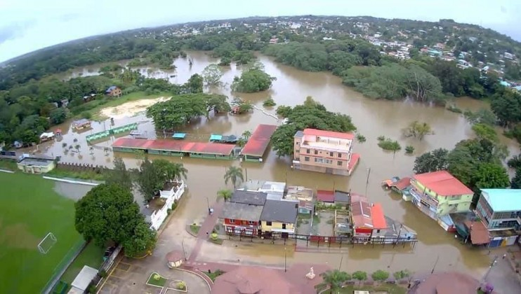 In Belize, Eta's flooding affected the entire country, especially Cayo, Belize, Stann Creek and Toledo. Near 60,000 people have been affected by the floods and access to food, water and hygiene items is challenging.   Credits: Belize Red Cross